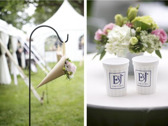 Bloomington Country Club Outdoor wedding Reception