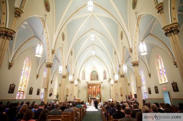 Historic Old St. Patrick in Bloomington