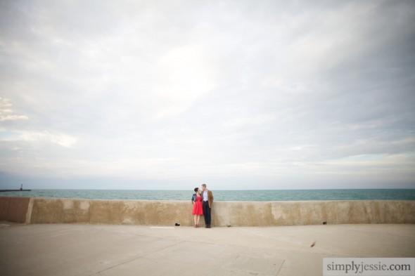 Lake Michigan Wedding Photography