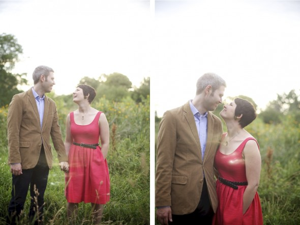 Midwestern Prairie Engagement and Wedding Photography