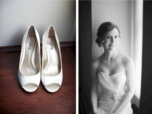 Bride getting ready in Chicago
