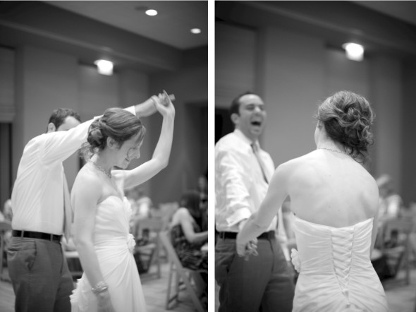 Couple First Dance at Reception