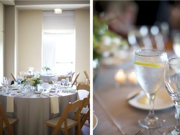 Elegant Chicago Garden Wedding Reception