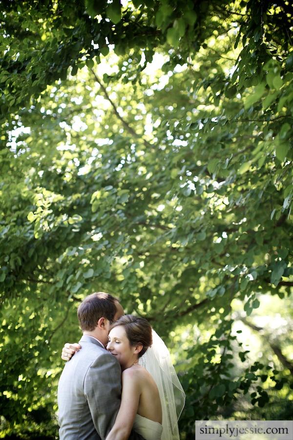 Garden Wedding in Midwest