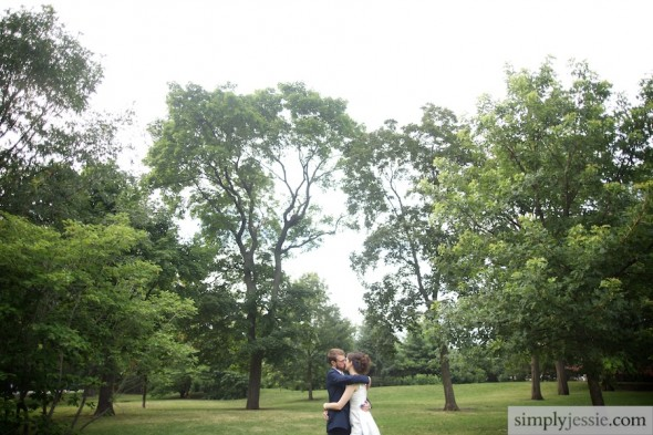 Outdoor Midwest Wedding Photography