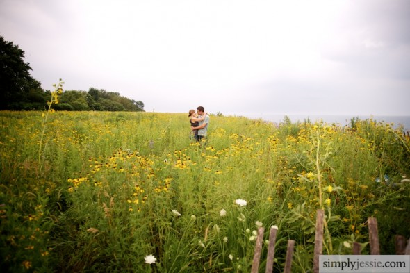 Outdoor wedding photography in Chicago