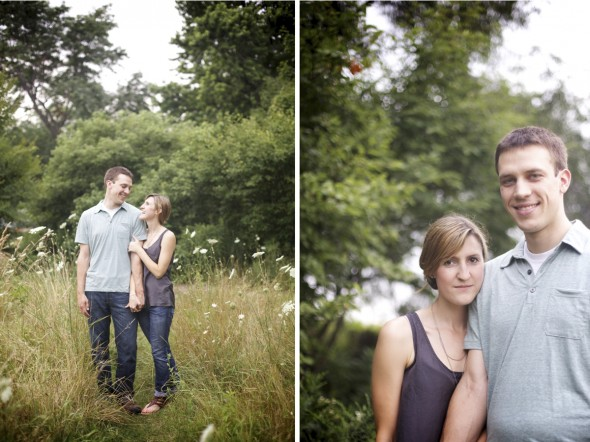 Queen Anne's lace engagement photography