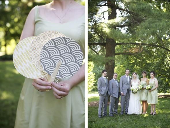 Small wedding at Morton Arboretum