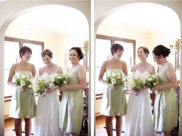Sunshine & bridesmaids