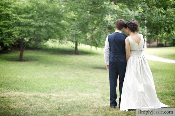 Untraditional Wedding Photography in midwest