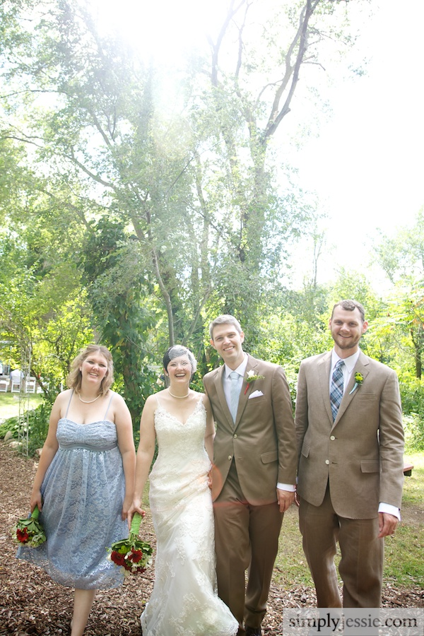 Bridal Party at Blue Dress Barn