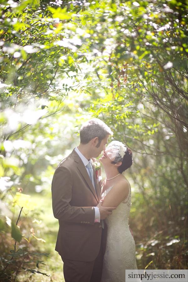 Michigan Outdoor Wedding Photography at Blue Dress Barn