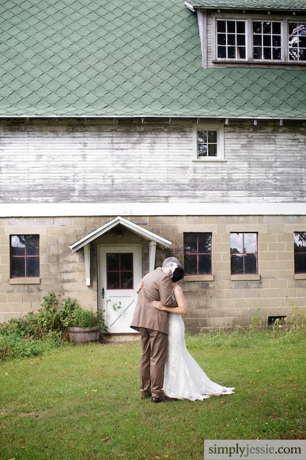 Michigan Wedding at Blue Dress Barn