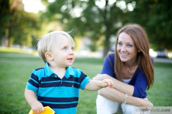 Mom & Son photography