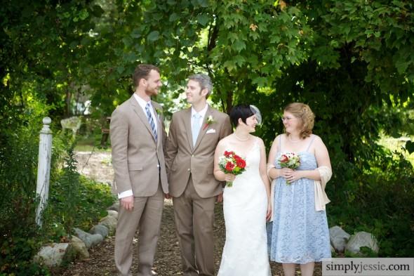 Photojounalitic Wedding party