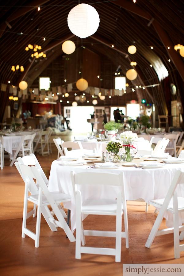 Wedding Reception at Blue Dress Barn