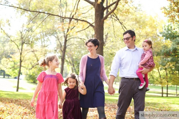 Fall Family Photography in Chicago