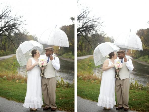 Goshen Indiana Woodland Wedding
