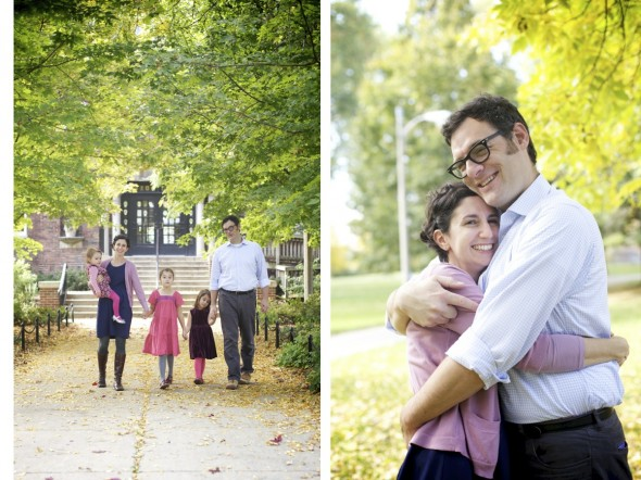 Lincoln Square Chicago Family Photographer