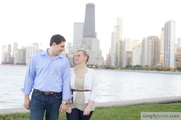 North Ave Chicago Engagement PHotography
