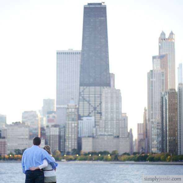 North Ave Engagement photography