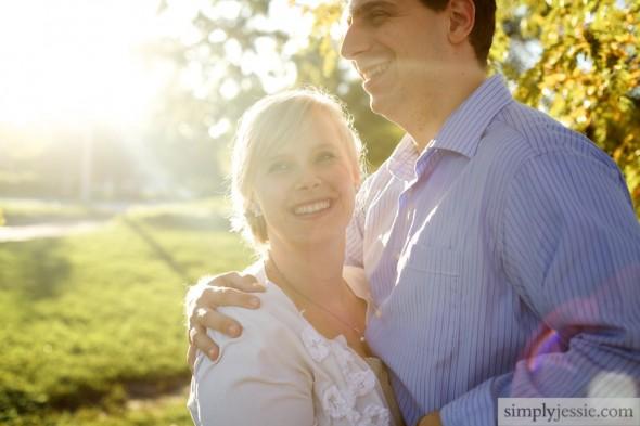 Sun filled wedding & engagement photography