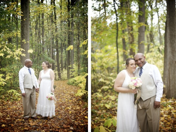 Woodland indiana wedding