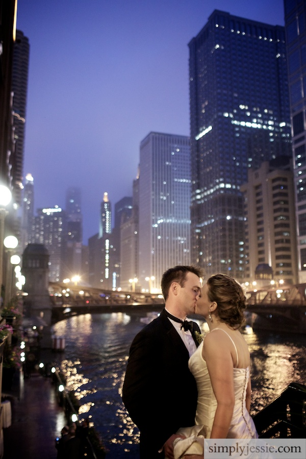 Chicago River Wedding Photography