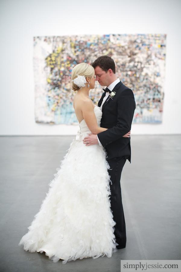 MCA CHicago Modern Wedding