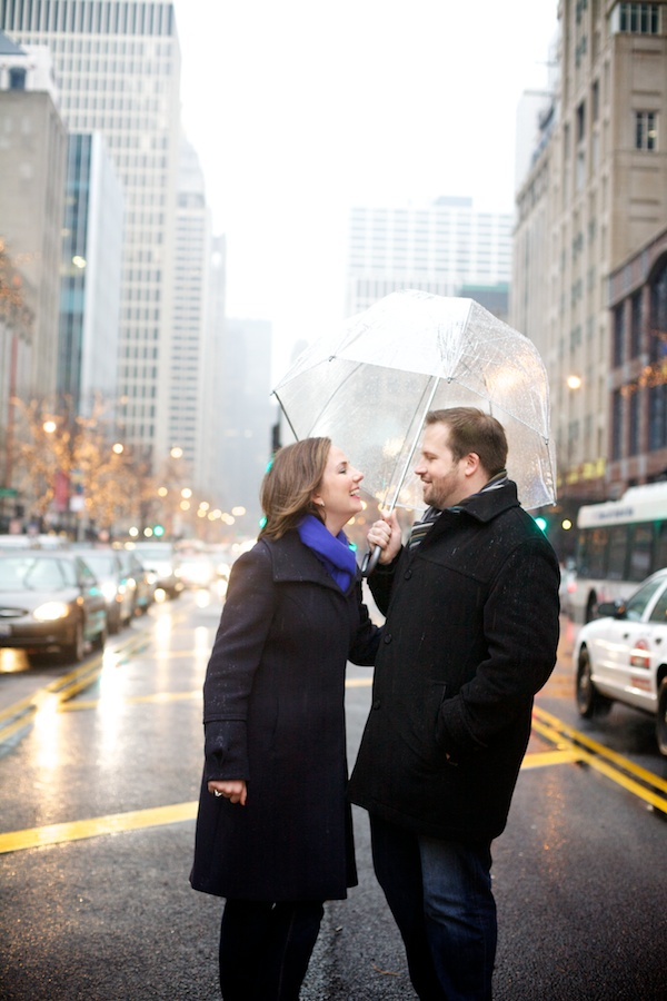 Michigan Ave Engagement