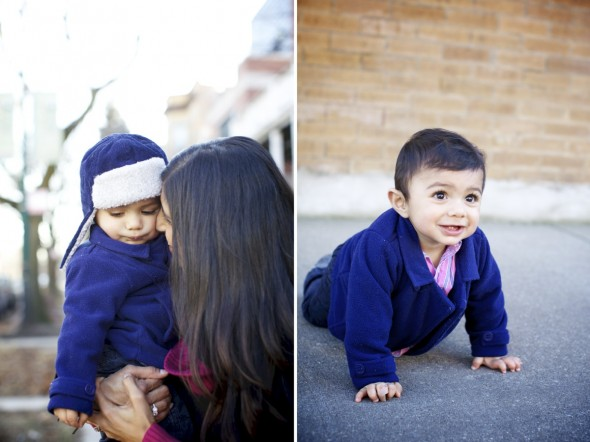 Lincoln Square Baby Photography