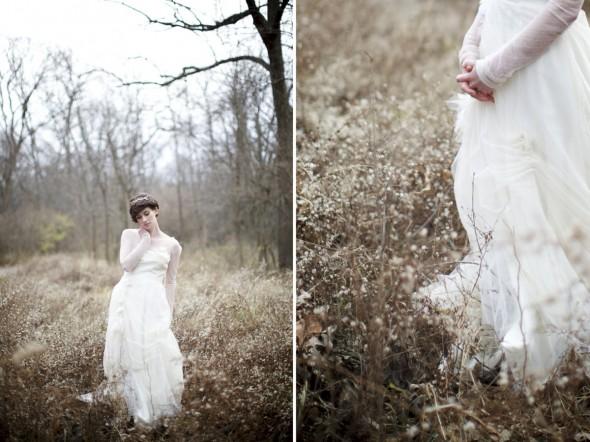 Romantic Winter Wedding Photography