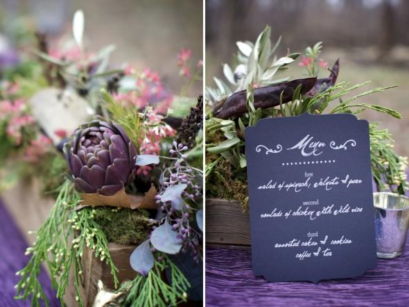 Winter Woods Wedding Photography