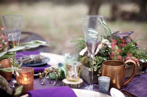 Woodland Creature Table Setting