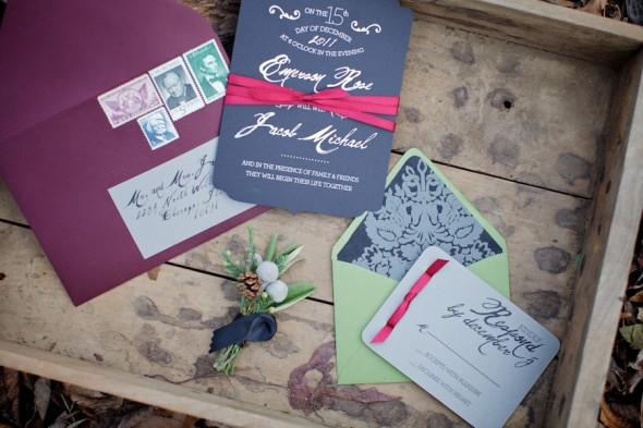 Woodland Inspiration Wedding Invitations