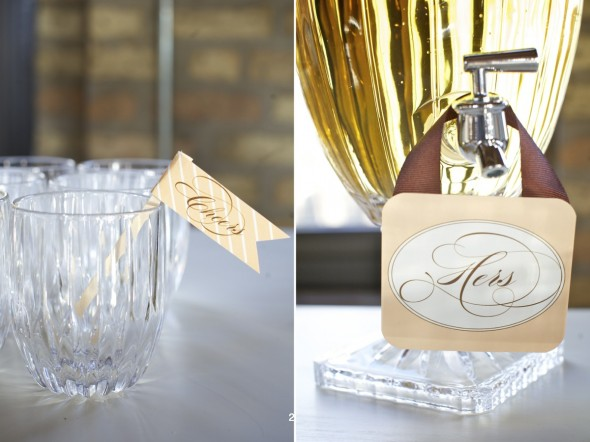 His:Her Wedding Inspiration