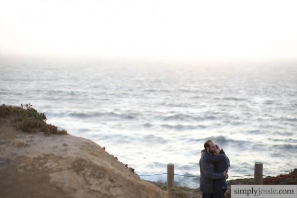 San Francisco Engagement PHotography at Lands End