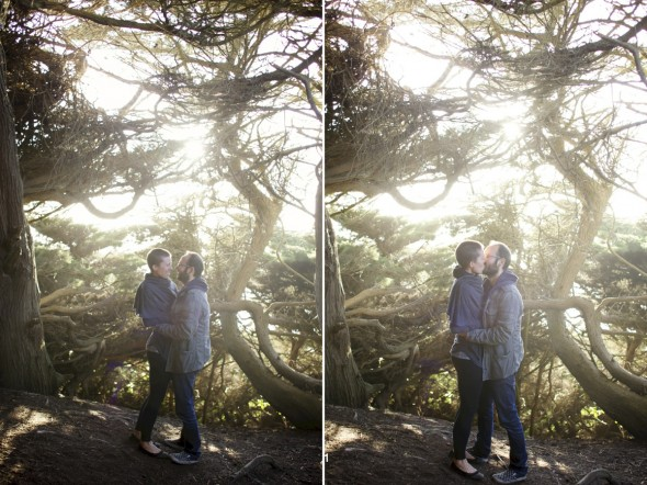 California Woods Engagement Photography