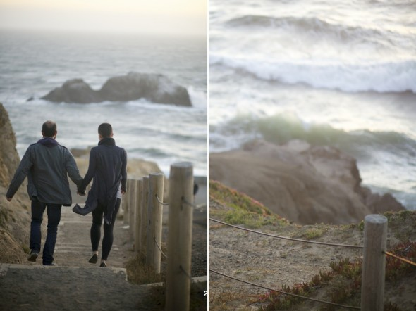 Lands End Engagement Photography