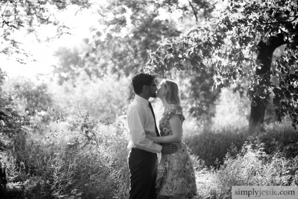 Prairie Engagement Photography