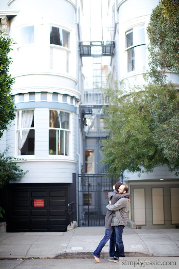 San Francisco CA Engagement Photography