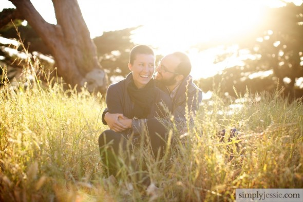 Sun filled San Francisco Engagement Photography