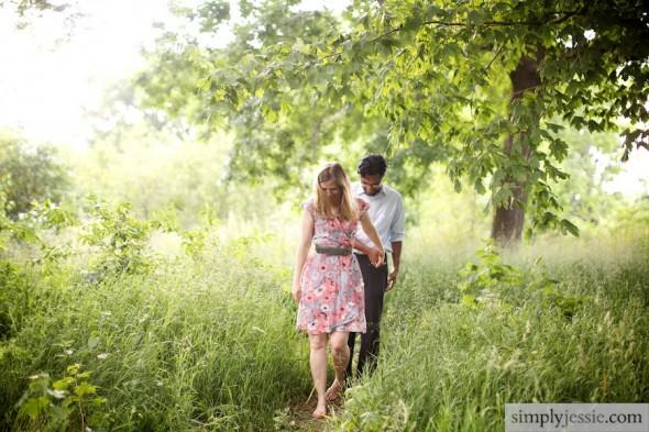 Woodland Engagement & Wedding Photography