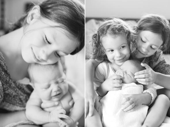 at home newborn photography, san francisco
