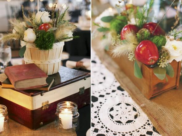 Lace& apples wedding inspiration