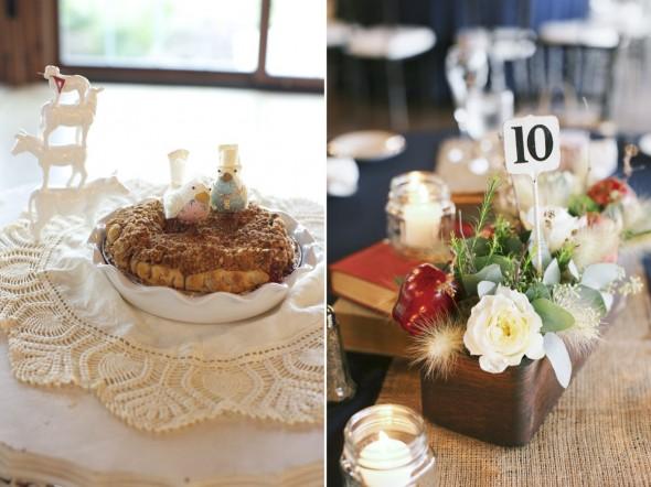 Pei as wedding cake