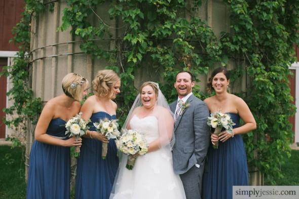 bridal party & ivy