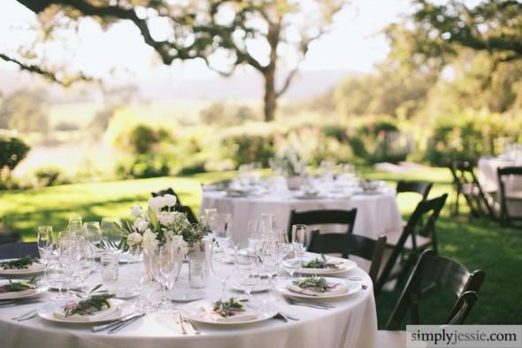 Wedding reception at Beltane Rance
