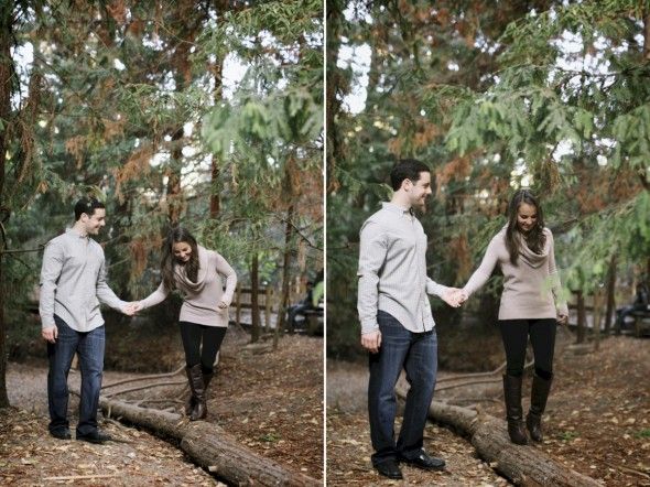 Woodland Engagment Photography in bay area