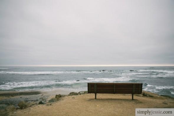 Bench & Pacific Ocean